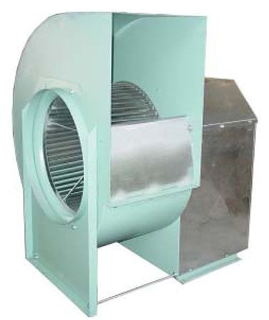 Belt Driven Forward-Curve Single Inlet Blowers - Series FC (Typical of FC120 to FC130)